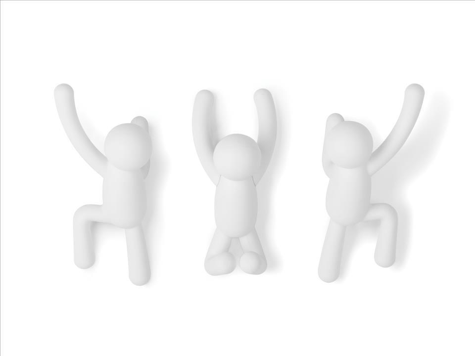 バディーフック 3pc  ホワイト