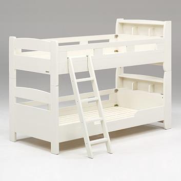 フリート 2段ベッド キャビネットタイプ WH