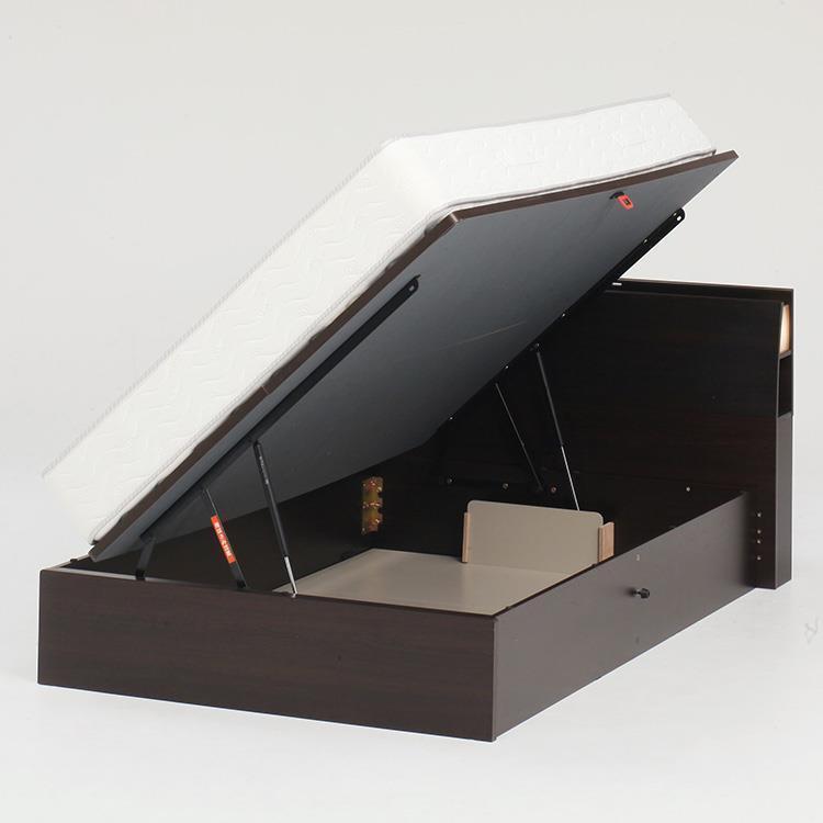 オスロC(リフト横300)ベッドフレーム SD NA