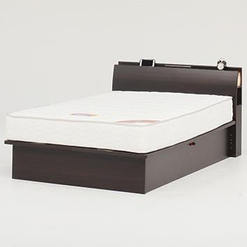 オスロC(リフト縦300)ベッドフレーム WD BR
