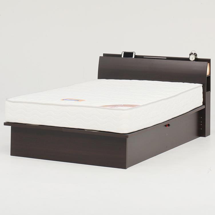 オスロC(リフト横235)ベッドフレーム SD BR