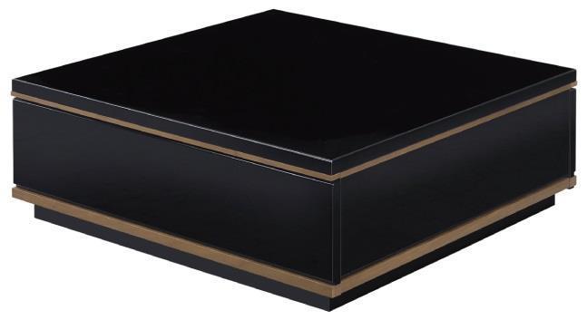 GZT スクエアリビングテーブル BK 80