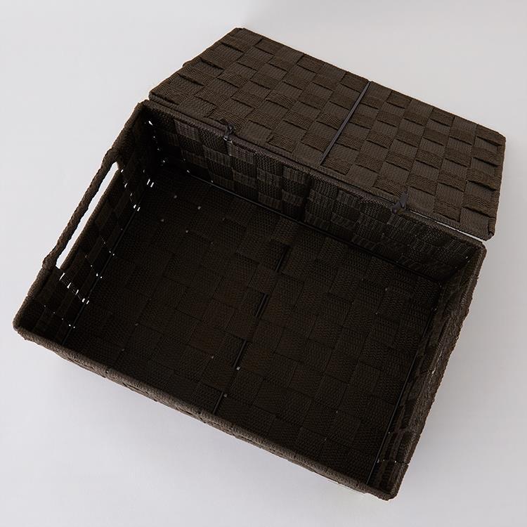 リボンテープボックス 蓋付き S BR