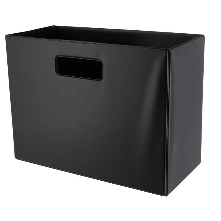 SKD-002  折りたたみ収納ボックス BK
