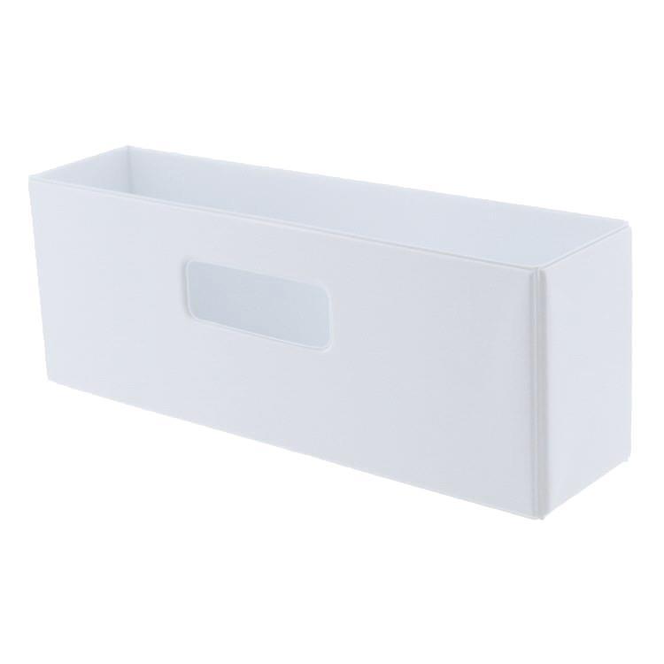 SKD-003  折りたたみ収納ボックス WH