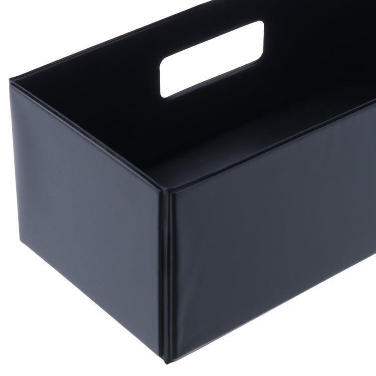 SKD-004  折りたたみ収納ボックス BK