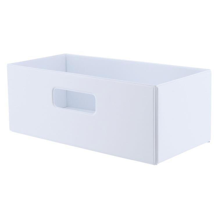 SKD-004  折りたたみ収納ボックス WH