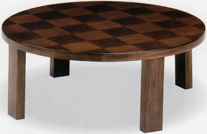 市松リング 90丸座卓