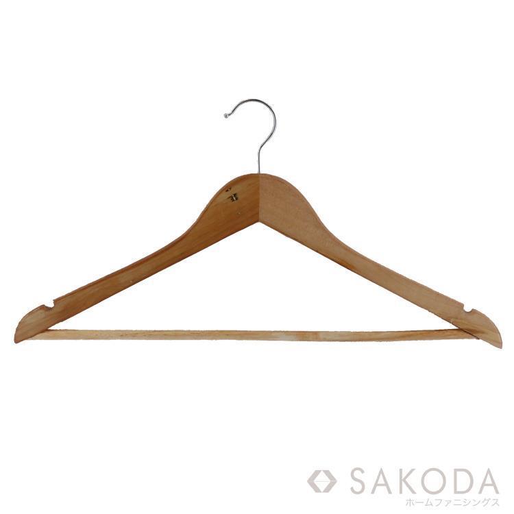 At home 木製ハンガー 10本組