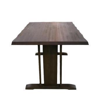 華 150ダイニングテーブル ブラウン