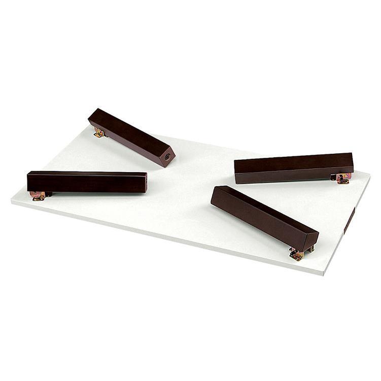 ドレーク リビングテーブル 折れ脚 100cm幅 WH/DBR