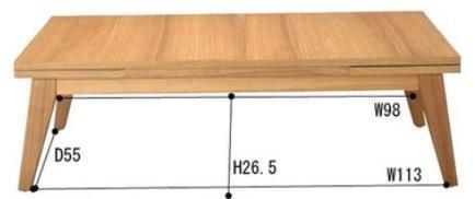 CPN-102NA   コパン 120エクステンションテーブル