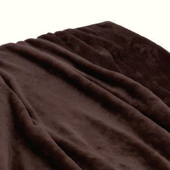 HIF-BK180  フラッフィー 毛布 BR ダブル