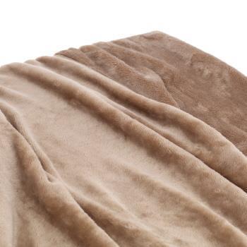 HIF-BK140  フラッフィー 毛布 BE シングル