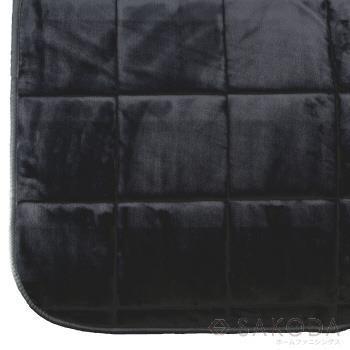 VET-RUG240  ベルベットラグ 190X240 BK