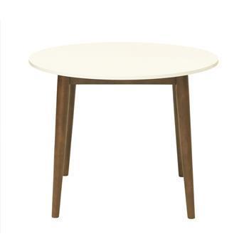 トリニータ 90 円形ダイニングテーブル WH