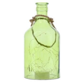 1003-GREEN   LED入ガラス瓶  GR  XL
