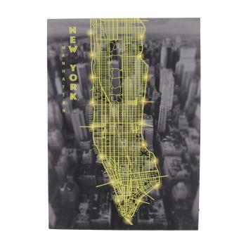 XC165851J   NYC LED付アート