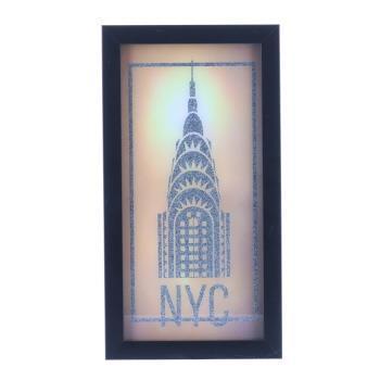 XCC172817M   NYC LED付アート