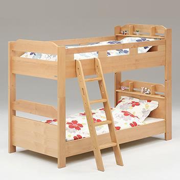 アールウッド 2段ベッド キャビネットタイプ NA