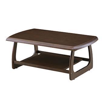 マリー センターテーブル 105cm幅 ブラウン