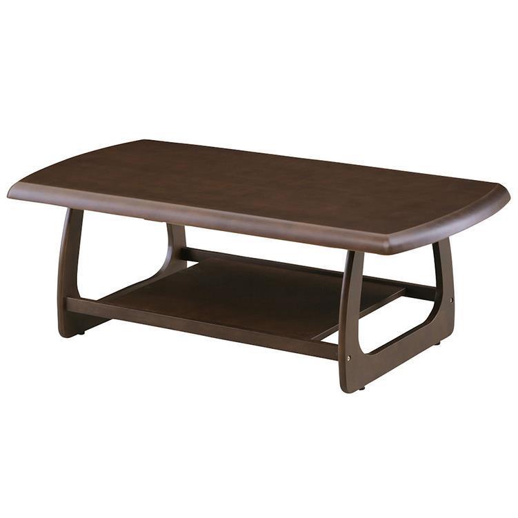 マリー センターテーブル 120cm幅 ブラウン