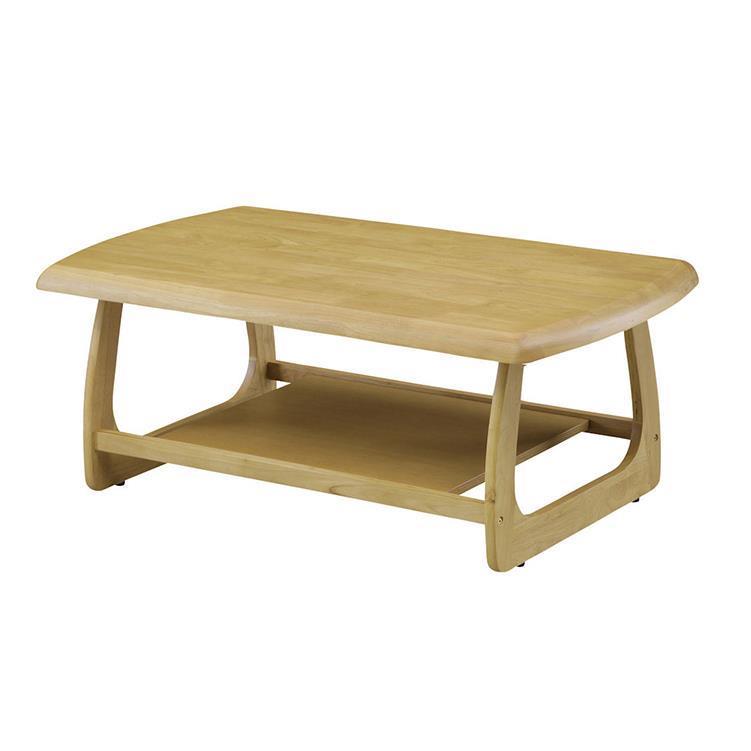 マリー センターテーブル 105cm幅 ナチュラル