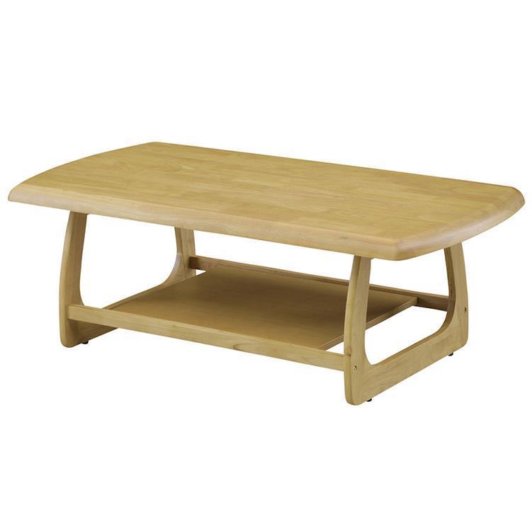 マリー センターテーブル 120cm幅 ナチュラル