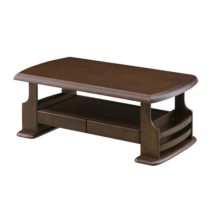 ジュディ センターテーブル 105cm幅 ブラウン