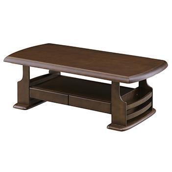 ジュディ センターテーブル 120cm幅 ブラウン