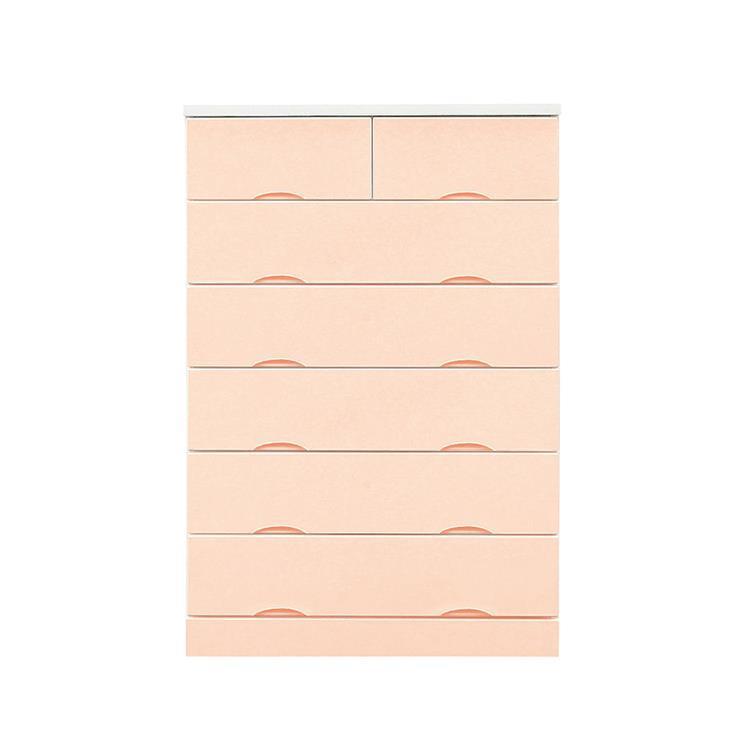 タイヒ 80-6ハイチェスト ピンク