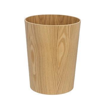 木製ダストボックス 丸 NA