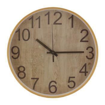 221.11600A   壁掛け時計 WOOD   NA/DBR