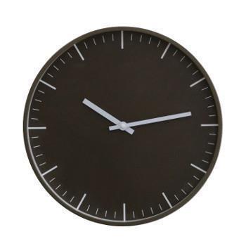221.11600C 壁掛け時計 シンプルブラウン BR/WH
