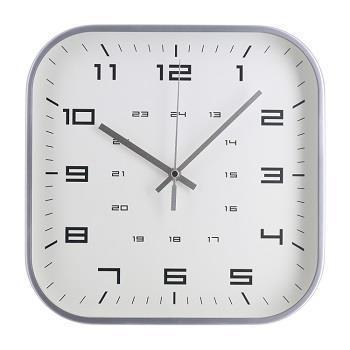 壁掛け時計 スクエア  SV