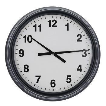 壁掛け時計 ブラック  BK