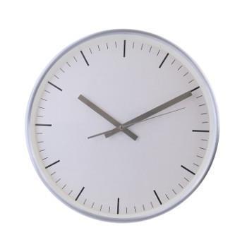 221.92439   壁掛け時計 シンプルホワイト   SV