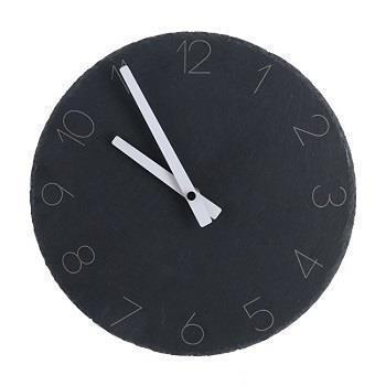 コンクリート壁掛け時計 サークル  GY