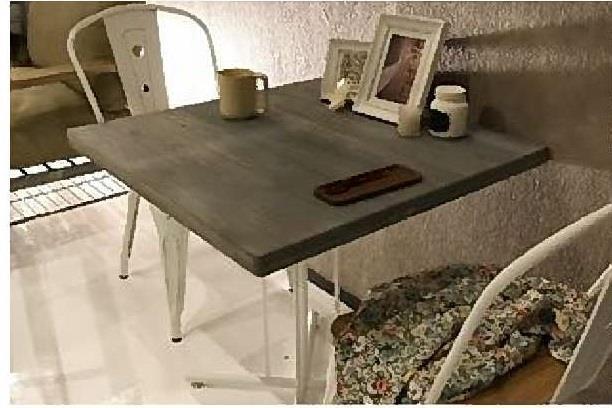 ケルト 72カフェテーブル WH