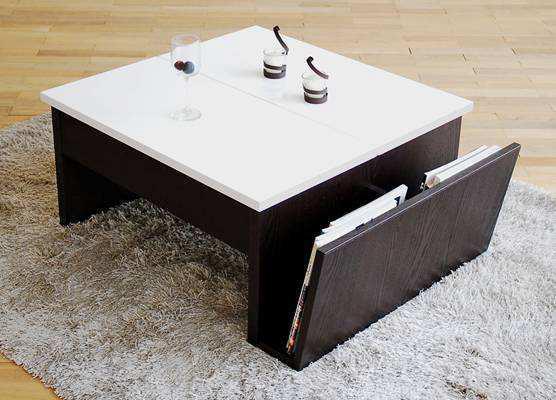 トーノ リビングテーブル ホワイト 90