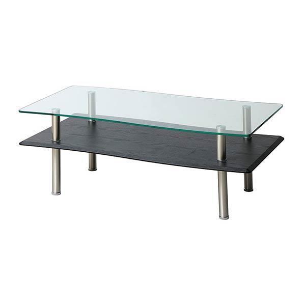 フリーズ センターテーブル GLT-2329  BK 幅110cm