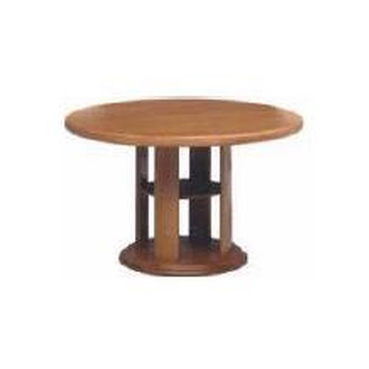 クーペ 4055 ダイニングテーブル LB 120丸