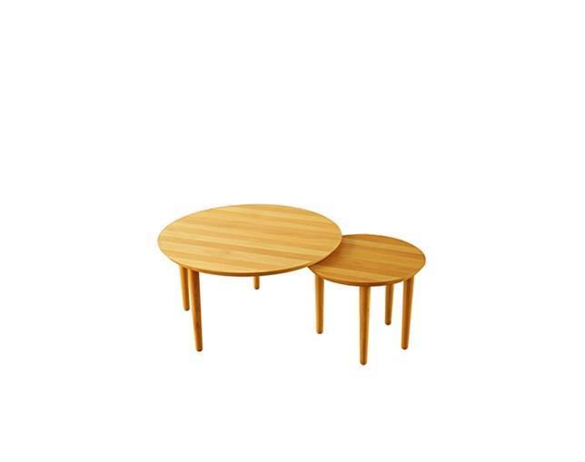 バルーン 69-2枚 リビングテーブル アルダー