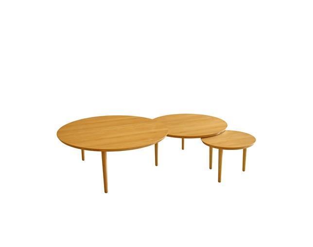 バルーン 90-3枚 リビングテーブル アルダー