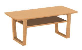 チターノ「T16380」 テーブル 色:ナッツシェル 105