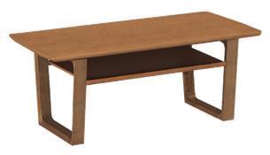チターノ「T16380」 テーブル 色:モルトブラウン 105