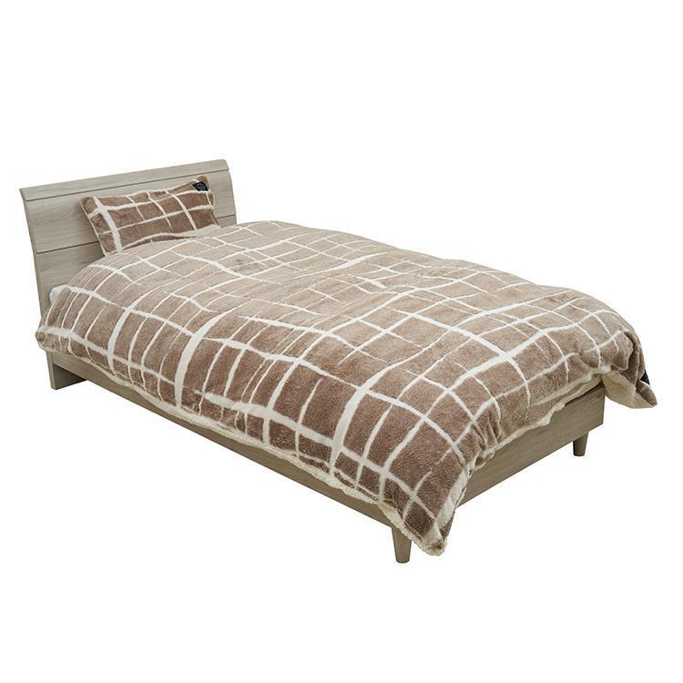 ニーナ 枕カバー 43cm×63cm BE QNI-PLO