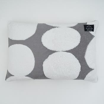 バブリードット 枕カバー GY QMJ-PLO