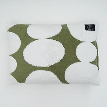 バブリードット 枕カバー GR QMJ-PLO