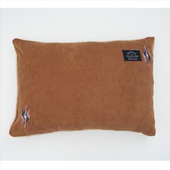 刺繍コーデュロイ 枕カバー  BR 43×63